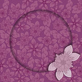 Quadro lilás Fotos de Stock Royalty Free