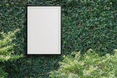 Quadro moderno vazio 3d do estilo Imagem de Stock
