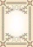 Quadro, molde para o original ou felicitações Fotos de Stock