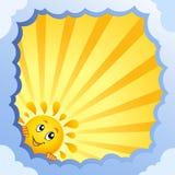 Quadro nebuloso com tema 3 do verão Imagem de Stock Royalty Free
