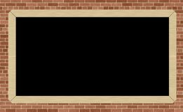 Quadro-negro Fotografia de Stock