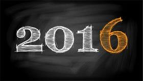 Quadro-negro - 2016 Imagem de Stock