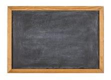 Quadro-negro com um quadro de madeira Imagens de Stock
