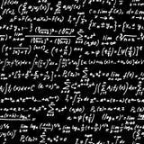 Quadro-negro da álgebra Fotografia de Stock Royalty Free
