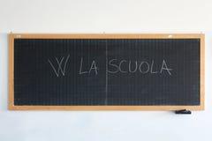 Quadro-negro da escola Imagem de Stock