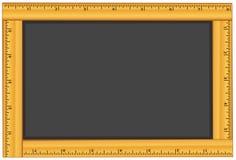 Quadro-negro do frame da régua - adicione seu próprio texto ilustração royalty free