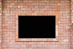 quadro-negro do tijolo Imagens de Stock