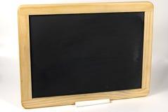 Quadro-negro em branco foto de stock royalty free