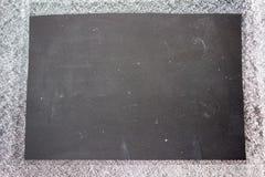 Quadro-negro em branco imagem de stock royalty free
