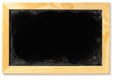 Quadro-negro em branco em um frame Fotos de Stock Royalty Free