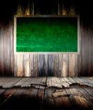 Quadro-negro verde Imagem de Stock Royalty Free