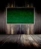 Quadro-negro verde Fotografia de Stock