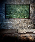 Quadro-negro verde Imagens de Stock Royalty Free