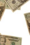 Quadro no dinheiro Imagem de Stock