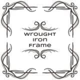 Quadro oito do ferro forjado Foto de Stock Royalty Free