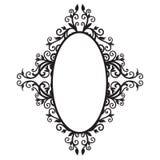 Quadro ornament-01 Imagens de Stock Royalty Free