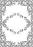 Quadro ornamentado Imagem de Stock Royalty Free