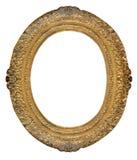 Quadro oval Imagens de Stock