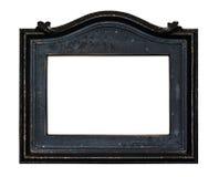 Quadro preto da foto do vintage isolado imagens de stock royalty free