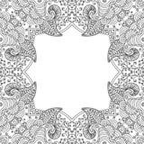 Quadro preto e branco Foto de Stock Royalty Free