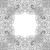 Quadro preto e branco Imagens de Stock