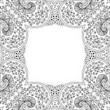 Quadro preto e branco Imagem de Stock Royalty Free