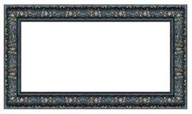 Quadro preto e dourado do vintage do retângulo foto de stock royalty free