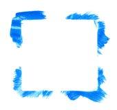 Quadro quadrado feito com cursos da escova Fotos de Stock