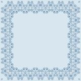 Quadro quadrado simmetric abstrato Fotografia de Stock Royalty Free