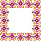 Quadro rústico da foto do mosaico do teste padrão Imagem de Stock Royalty Free