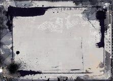 Quadro retro do estilo do Grunge para seus projetos Foto de Stock