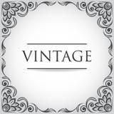 Quadro do vintage do vetor Foto de Stock