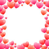 Quadro romântico Imagens de Stock