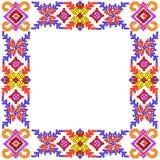 Quadro rural da foto do mosaico do teste padrão Foto de Stock Royalty Free