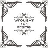 Quadro sete do ferro forjado Fotos de Stock