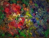 Quadro astratto dipinto pittura a olio u foto stock yamabikay