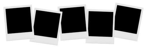 Quadro vazio isolado da foto Quadro vazio do branco da foto Fotografia de Stock Royalty Free