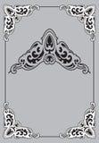 Quadro Vectorized de Art Nouveau do vintage Elemento do projeto Imagem de Stock Royalty Free