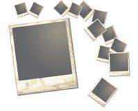 Quadro velho do polaroid Imagens de Stock