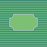 Quadro verde Foto de Stock Royalty Free