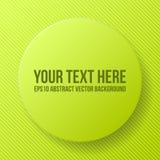 Quadro verde abstrato Fotografia de Stock Royalty Free