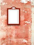 Quadro vermelho Imagens de Stock Royalty Free