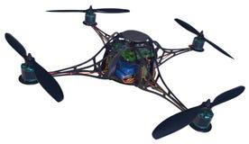 Quadrocopter royalty ilustracja