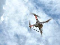 Quadrocopter Fotografía de archivo libre de regalías