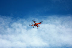 Quadrocopter Arkivbild