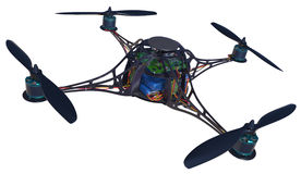 Quadrocopter Royalty Free Stock Image