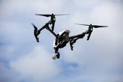 Quadrocopter-Brummen Lizenzfreies Stockbild