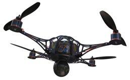 Quadrocopter con la macchina fotografica royalty illustrazione gratis