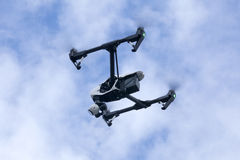 Quadrocopter drone Stock Images