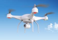 Quadrocopter drone vector illustration